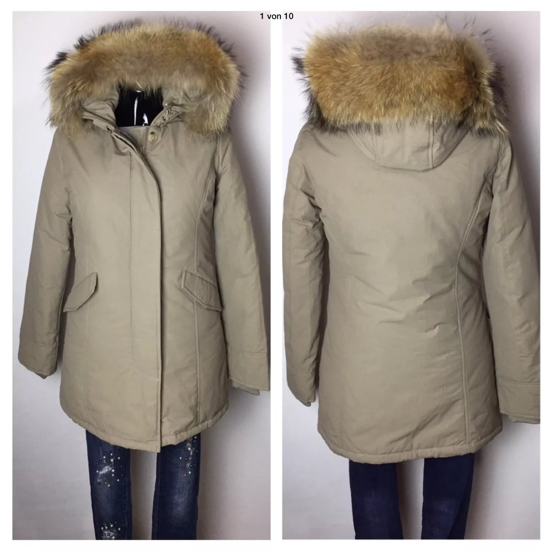 official photos 9c32d bd064 Parka XXL Fell W-Collection Beige
