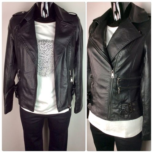 Bikerjacket black