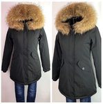 Attentif Parka Black Extra Fell