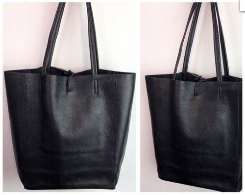 Italy Shopper Black